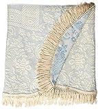 Queen Elizabeth Matelasse Bedspread - King - French Blue