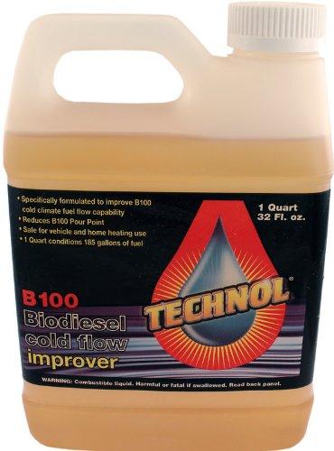 Duda Diesel technol1 1 Quart Technol Biodiesel Anti-Gel B100 Cold Flow Treatment Winterization Fuel Additive, 32. fluid_ounces