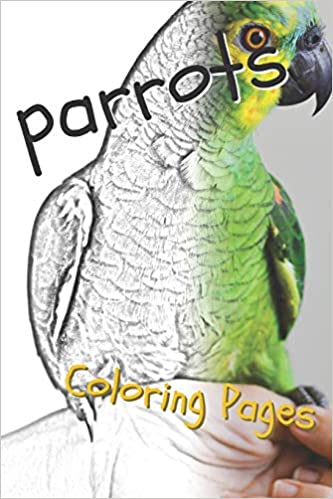 Parrot Coloring Pages: Beautiful Parrots Drawings for Kids ...