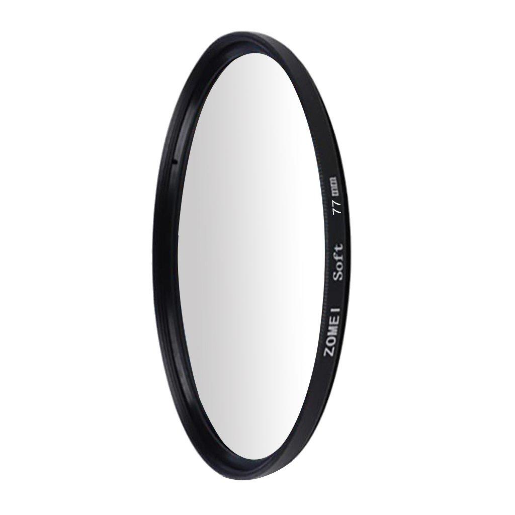 perfk C/ámara Soft Focus Filter Difusor De Efectos Especiales Suavizar Lente para Canon Negro-58mm