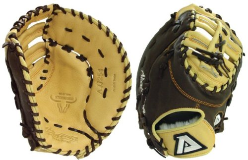 - AJJ254-RT Pro Soft Series 12.5 Inch Baseball First Base Mitt Right Hand Throw