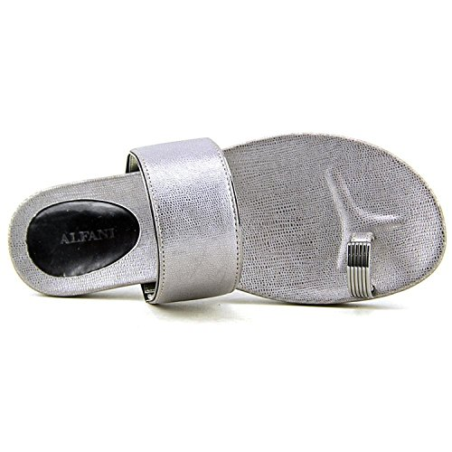 Open 5 US Alfani Thong Toe Gunmetal Slides Sandal Womens Bague q8ETOwU74