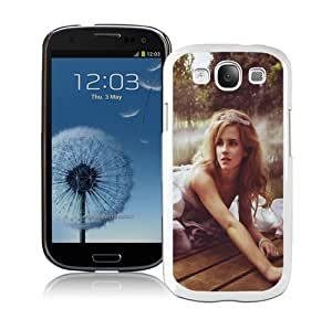 Beautiful And Unique Designed Case For Samsung Galaxy S3 With Princess Emma Watson White Phone Case