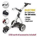 Electric Golf Trolley (Silver)