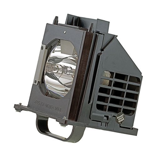 Mitsubishi WD73735 Rear Projector TV Assembly with OEM Bulb and Original Housing by Mitsubishi