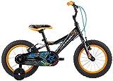 Louis Garneau - HG F-14 Dragon Bike, Black/Orange, One Size
