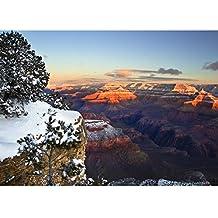 "5x7 Photo Print - ""Grand Canyon Vivid Sunrise"" by TravLin Photography"