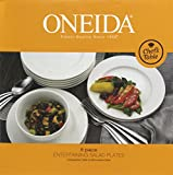 Oneida Chef's Table Dinnerware and Flatware Separates (8-Pc Salad Plates)
