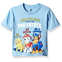Nickelodeon boys Toddler Boys Paw Patrol How to Roll With the Short Sleeve Tee