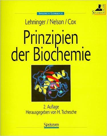 Prinzipien der Biochemie