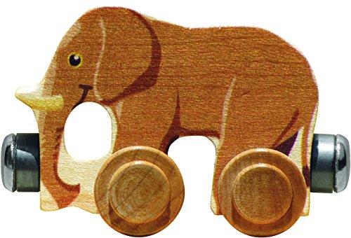 NameTrain - Elmer Elephant - Made in USA - Elephant Train