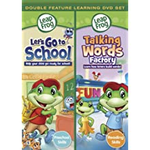 Leapfrog: Let's go to School/ Talking Words Factory - Double Feature [DVD] (2010)