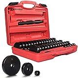 52 PieceBush Bearing and Seal Drive Set - Bearing Bushing Removal Install Tool Kit