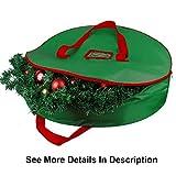 Christmas Wreath Storage Bag - Xmas Large Wreath
