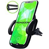 Air Vent Car Phone Mount Holder - Car Phone Mount for iPhone X 8 7 6 5 Plus Samsung and any Cell Phone - Phone Holder for Car - Universal Vent Mount for Men and Women - Vent Mount - Vent Holder.
