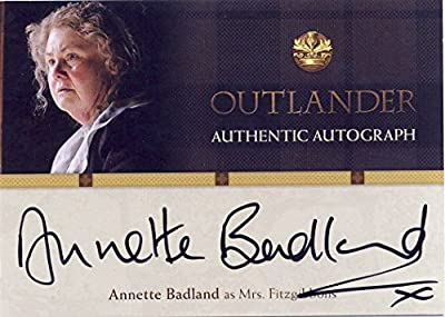 2016 Outlander Season 1 Trading Cards Autograph Card AB Annette Badland as Mrs Fitzgibbons