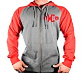 """This zipper hoodie with pouch pocket is for the hard-core bodybuilder, powerlifter or weightlifter alike. The RED """"MC USA"""" League Series-Captain artwork details the front for that simple yet powerful look that every hardcore person is looking for. Wh..."""