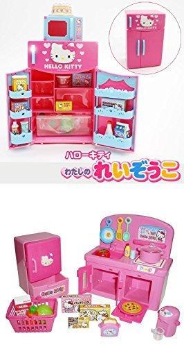 Amazon.com: Hello Kitty Kitchen and Refrigerator Sets Sold ...