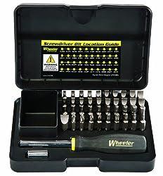 Wheeler Professional Gunsmithing Screwdriver Set (43-Piece) Review