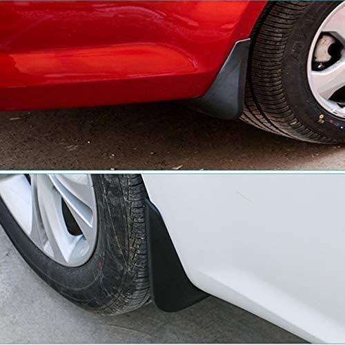 Semoic Garde-Boues Moul/éEs pour Ford Fiesta Mk7 2009-2017 Bavettes Garde-Boue Garde-Boue 2010 2011 2012 2013 2014 2015 2016 Accessories