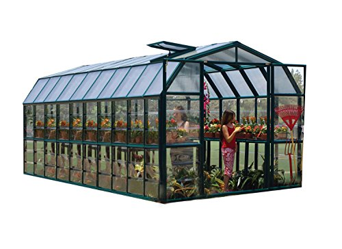 Rion Grand Gardener 2 Clear Greenhouse, 8′ x 20′