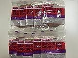 3/16'' & 7/32'' BLACK BACK COPPER FOIL (10 rolls - 5 Rolls each size)