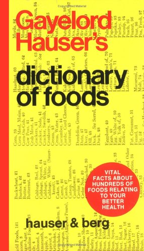 food dictionary - 3