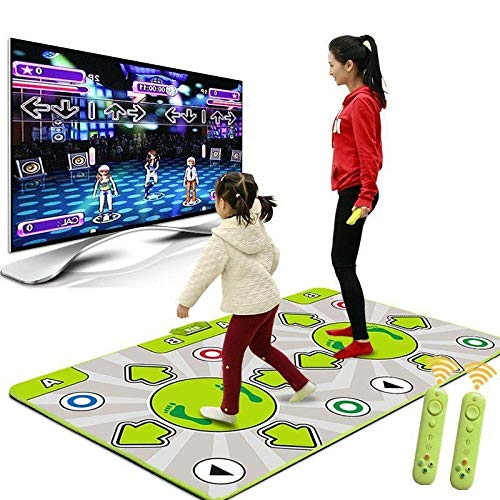 QXMEI Double 30MM Ultra-Thick Multifunctional Body Machine TV Dual-use Massage Dance Mat