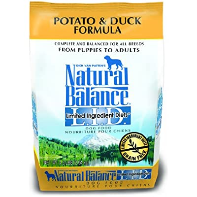 Natural Balance L.I.D. Limited Ingredient Diets Dry Dog Food, Potato & Duck Formula