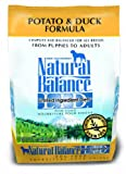 Natural Balance Limited Ingredient Diets Dry Dog Food - Grain Free - Potato and Duck Formula - 4.5-Pound
