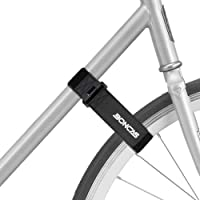 Boncas Adjustable Bike Rack Strap Bicycle Wheel Stabilizer Straps with Innovative Gel Grip Keep The Bicycle Wheel from…