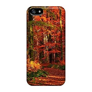 New Snap-on Phonedecor Skin Case Cover Compatible With Iphone 5/5s- Autumn Forest