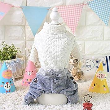 Macxy - Kawaii Pet Shop Estilo Coreano Perro Jumpsuits Pelele Mascotas Ropa Perro Pijama Ropa para Perros Pareja Perro Ropa: Amazon.es: Productos para ...