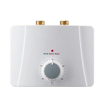 220V 5.5kw, 3.4 Kw, Calentador de agua instantáneo sin revelar Calentador de agua