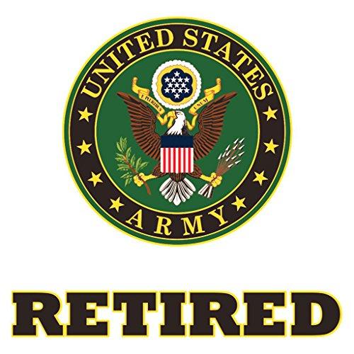 Us Army Retired Decals - Us Army Retired Decal Sticker