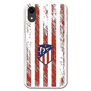 Carcasa Oficial Atlético de Madrid Escudo Fondo Retro iPhone XR