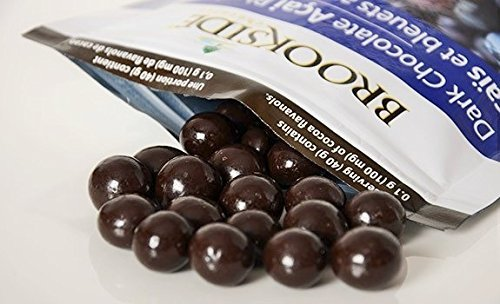 4lb Resealable Bag - Brookside Dark Chocolate Acai with Blueberry All New New Value Pack Size 4 Pounds in Resealable Bags