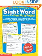 #2: 100 Write-and-Learn Sight Word Practice Pages: Engaging Reproducible Activity Pages That Help Kids Recognize, Write, and Really LEARN the Top 100 High-Frequency Words That are Key to Reading Success