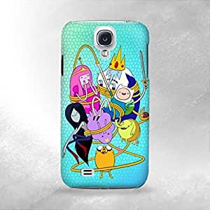 Adventure Time - Samsung Galaxy S4 i9600 Back Cover Case - Full Wrap Design hjbrhga1544