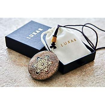 Amazon Com Orgone Pendant Necklace Reiki Merkaba