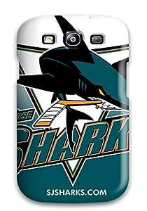 Hard Plastic Galaxy S3 Case Back Cover,hot San Jose Sharks Hockey Nhl (50) Case At Perfect Diy