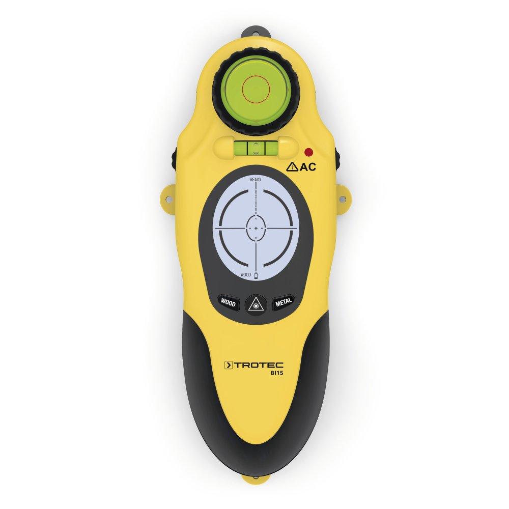TROTEC Wallscanner BI15 Digitales Ortungsger/ät maximale Detektionstiefe bis zu 38mm