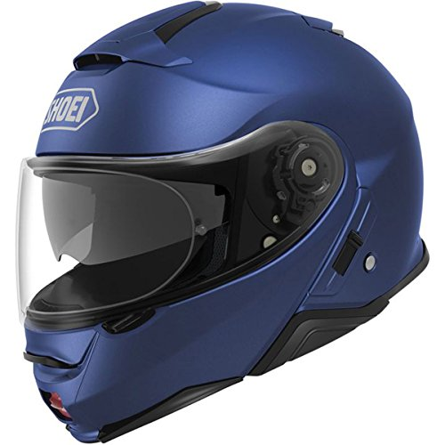Shoei Solid Neotec 2 Modular Motorcycle Helmet - Matte Blue Metallic/Small -  0116-0132-04