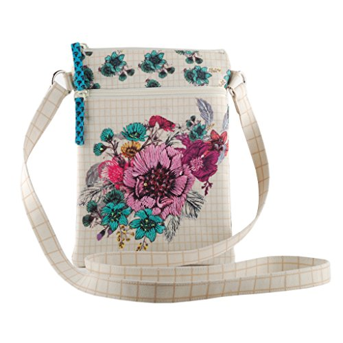 tote zipper Blossom purse bag smooth girls slingbag women travel shoulder Crossbody AEfqE