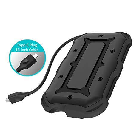 C2566II-G2 - Carcasa para Disco Duro Externo portátil (USB C 3.1 ...