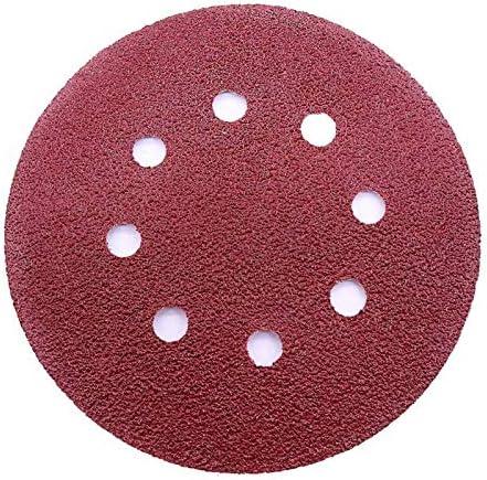 125mm 0-8 Trou Papier de Verre Ponçage Polissage Disque Pad 40-3000 Grit