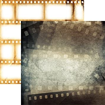 Movie scrapbook Instant Download Theatre Scrapbook Digital Scrapbook sleep Over Scrapbook Movie night clipart