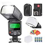 Neewer PRO NW670 E-TTL Photo Flash Kit for CANON Rebel T5i T4i T3i T3 T2i T1i XSi XTi SL1, EOS 700D 650D 600D 1100D 550D 500D 450D 400D 100D 300D 60D 70D DSLR Cameras, Canon EOS M Compact Cameras,Include:(1)NW670 ETTL Flash For Canon+(1)Universal Mini Fla