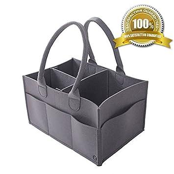 Amazon.com: Genum Caddy - Cesta para pañales con cambiador ...