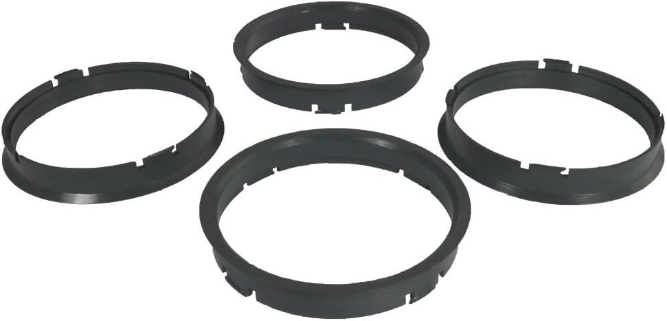 65,1mm Zentrierungsringe Alufelgen 4x Set Felgen Zentrierringe 71,6mm
